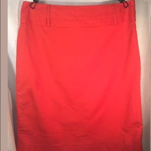 Rafaella Pencil Skirt Size 10 Side Zip Back Slit